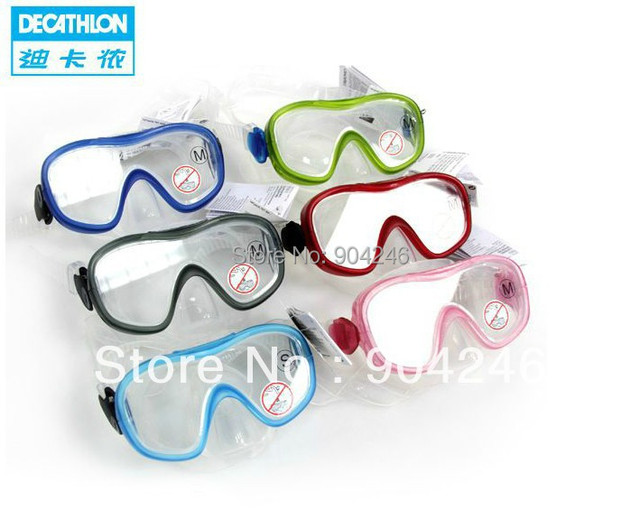 2164558cd15fb Freeshipping DECATHLON Diving glasses goggles diving mask snorkel mask  breathing mask equipped TRIBORD
