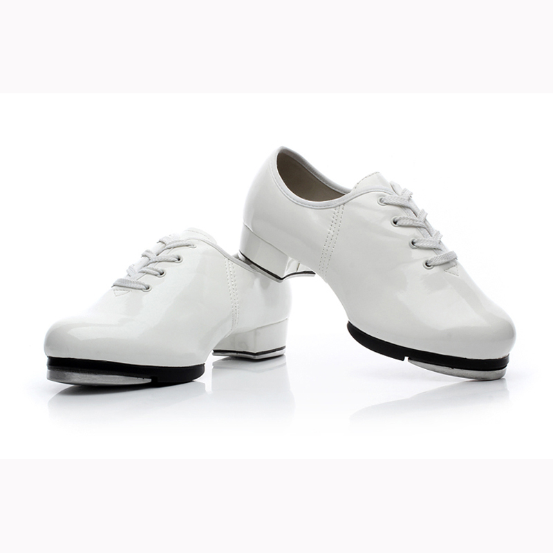 Pu Leather Men's Tap Dance Shoes Male