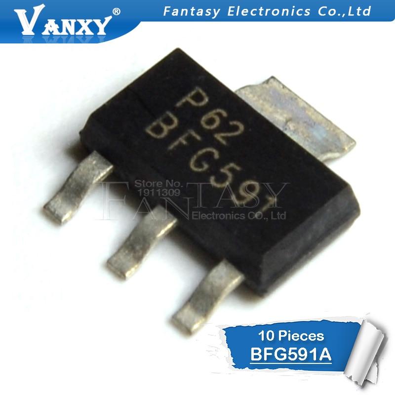 10PCS BFG591 SOT223 BFG591A SOT-223 SMD