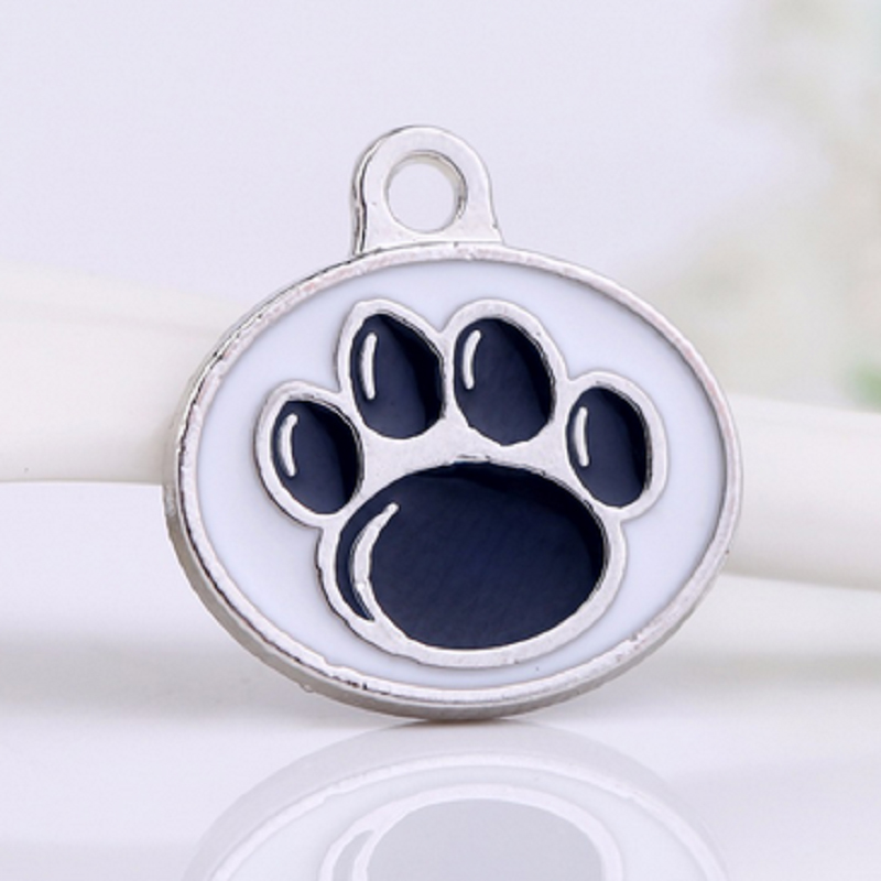 Oval Double Side Enamel Penn State Nittany Lions Dangle Charm College Team Pendant Charm For All DIY Fashion Jewelry