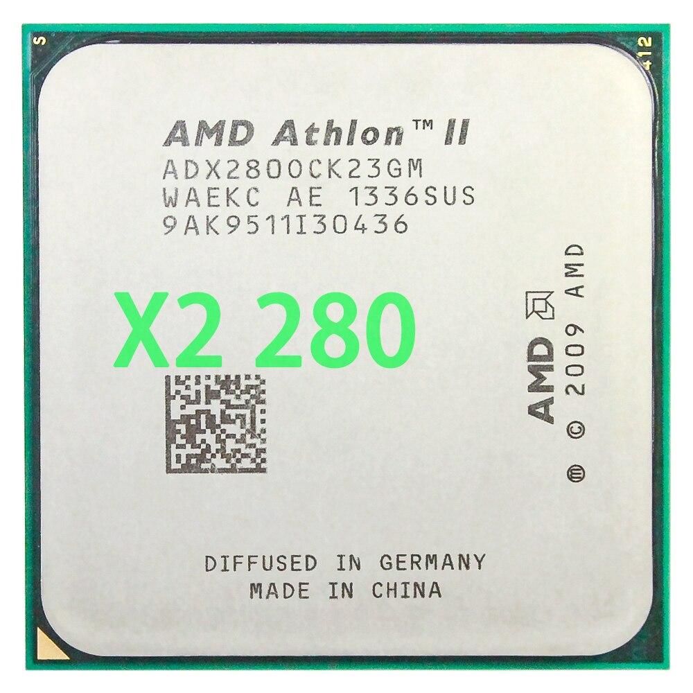 AMD Athlon II X2 280 CPU Processor 3.6GHz/2MB L2 Cache /Socket AM3 Dual-Core