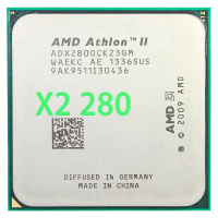 AMD Athlon II X2 280 CPU Processor 3.6GHz/2MB L2 Cache /Socket AM3 Dual Core|CPUs| |  -