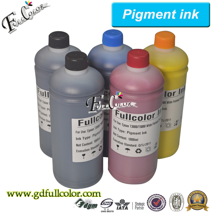 ФОТО Waterproof Inkjet Printer ink for Epson SureColor T7000 T5000 T3000 Pigment ink