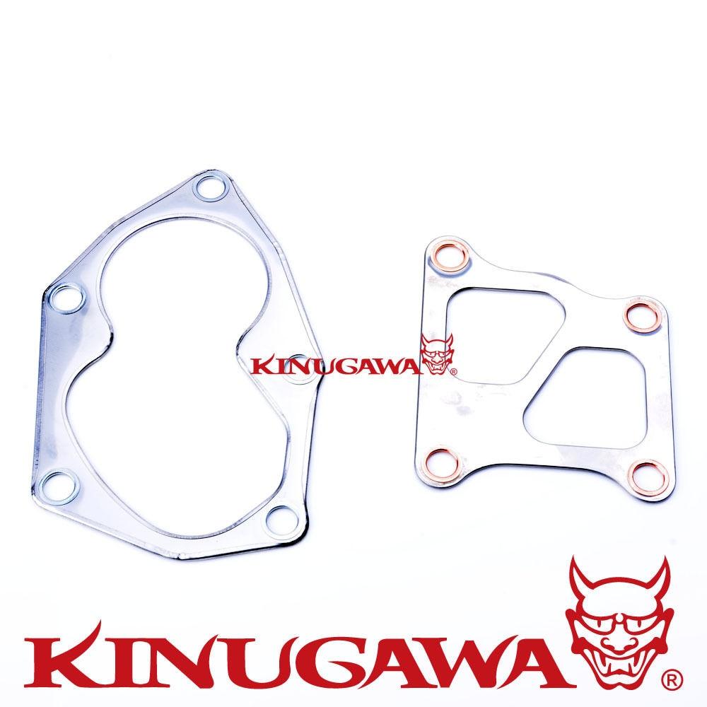 ①Kinugawa Turbo turbina Junta kit para Mitsubishi 4G63T EVO 4 ~ 9 ...