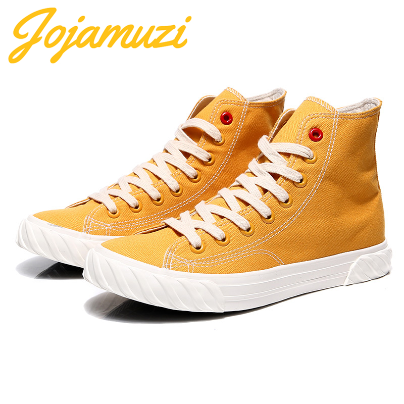 Men's Vulcanize Shoes Men Spring Autumn Top Fashion Sneakers Lace-up High Style Solid Colors Man Shoes Leisure Cavans Shoes
