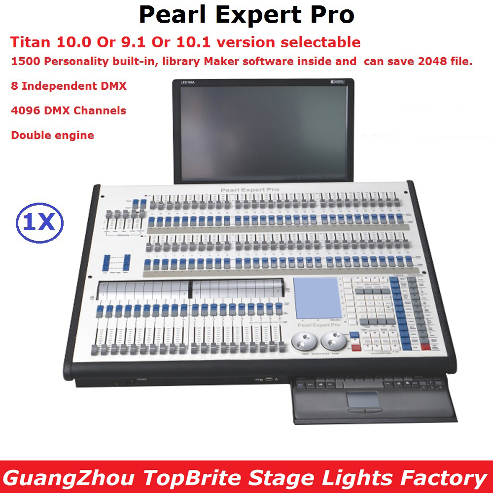 Pearl Expert Pro Avolites Stage Lighting Controller Titan 9.1/10.0/10.1 System Titan Console Dj Disco Lighting Shows Equipment remington ci9532 e51 curl pearl pro