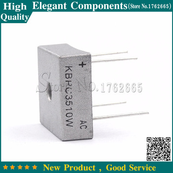 1 Pcs KBPC3510W KBPC-3510W KBPC3510 35A 1000 V diodo raddrizzatore a ponte 4Pin