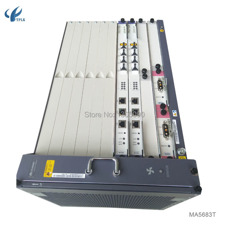 US $1479 0  1set Huawei MA5683T GPON OLT/ EPON/GPON OLT with 16 Ports GPON  GPFD boards-in Fiber Optic Equipments from Cellphones & Telecommunications