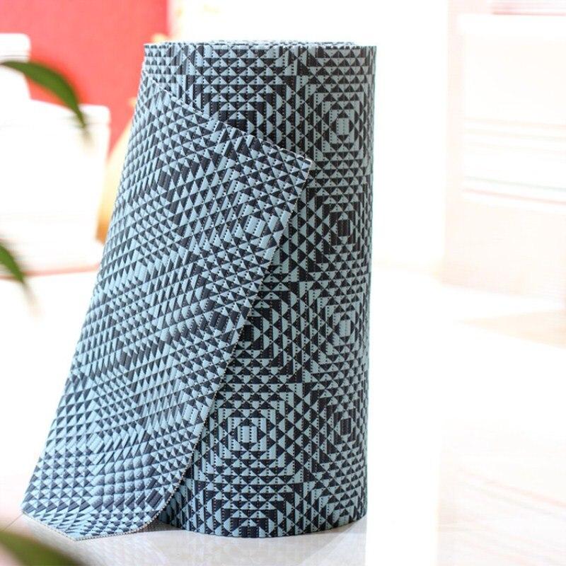 PVC foam anti-skid pad household cushion slip foam carpet cushion thicken kitchen mats doormat ottomans bay window mat