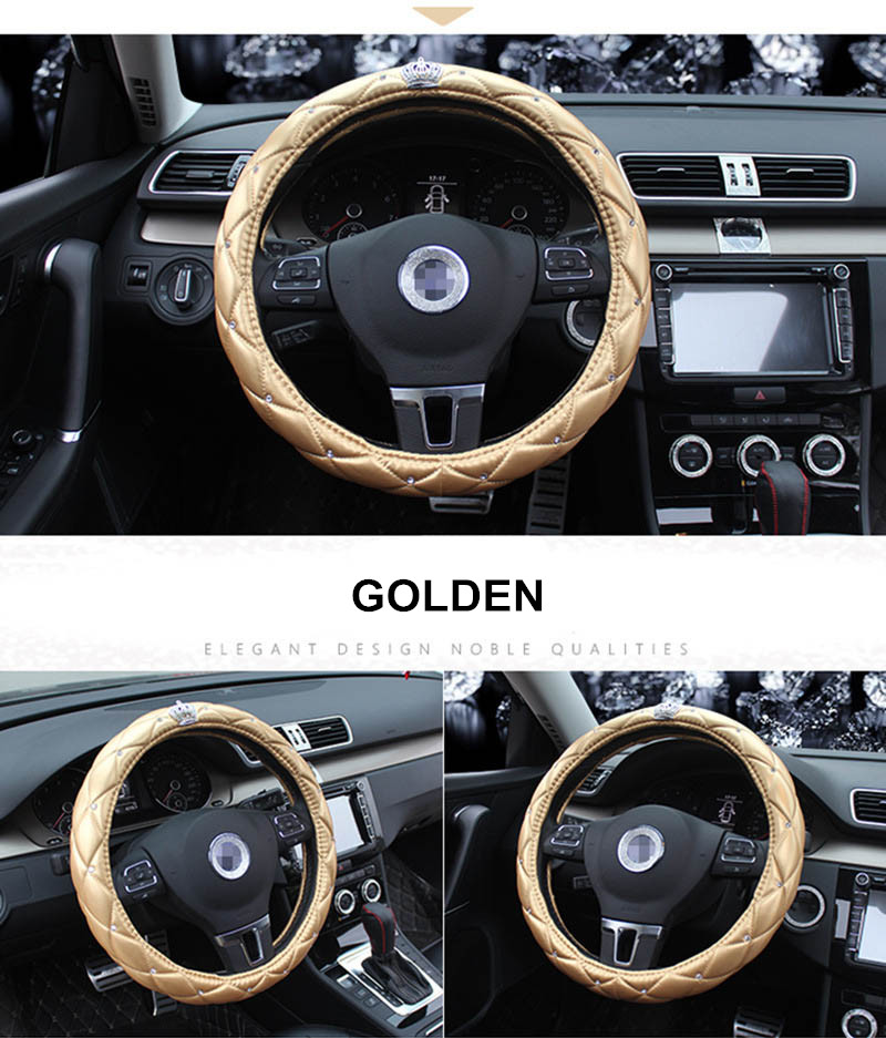 leather steering wheel cover 5