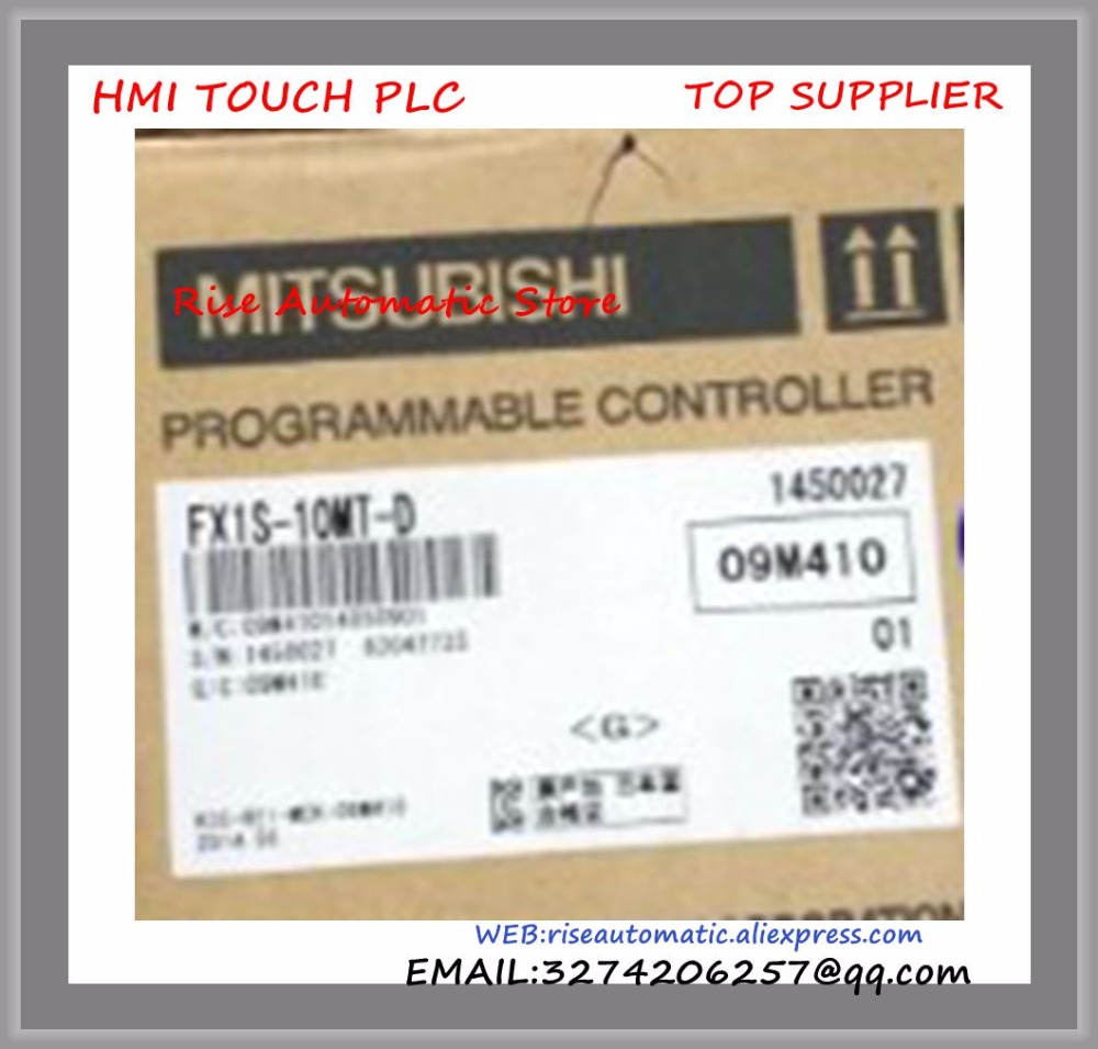 New Original Programmable Logic Controller FX1S-10MT-D PLC 24V DC Transistor Output Base Unit new original fx1s 20mr plc programmable logic controller module