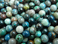 Free Shipping natural Azurite 8mm smooth round loose beads stone wholesale for jewelry design making