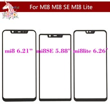 For Xiaomi MI 8 MI8 SE Lite Youth Pro MI8 Mi8i Touch Screen Panel Front Outer Glass Lens Touchscreen NO LCD Without Digitizer original for xiaomi redmi note note 6 pro 6pro touch screen panel front outer glass lens touchscreen no lcd without digitizer