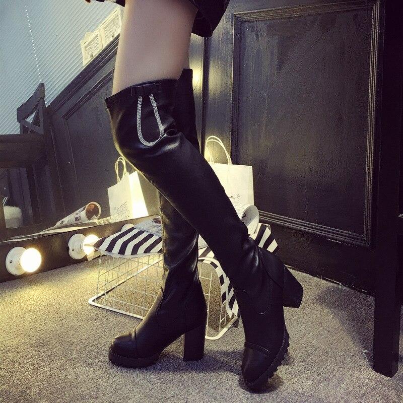 Apa Deskripsi Lengkap Dari Sepatu Booting Paha Tinggi