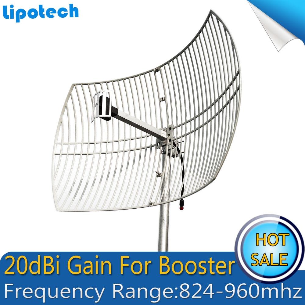 20dBi сетка антенна UMTS CDMA 850 МГц и GSM 900 МГц внешняя антенна большой охват наружная антенна для сотового телефона усилитель сигнала