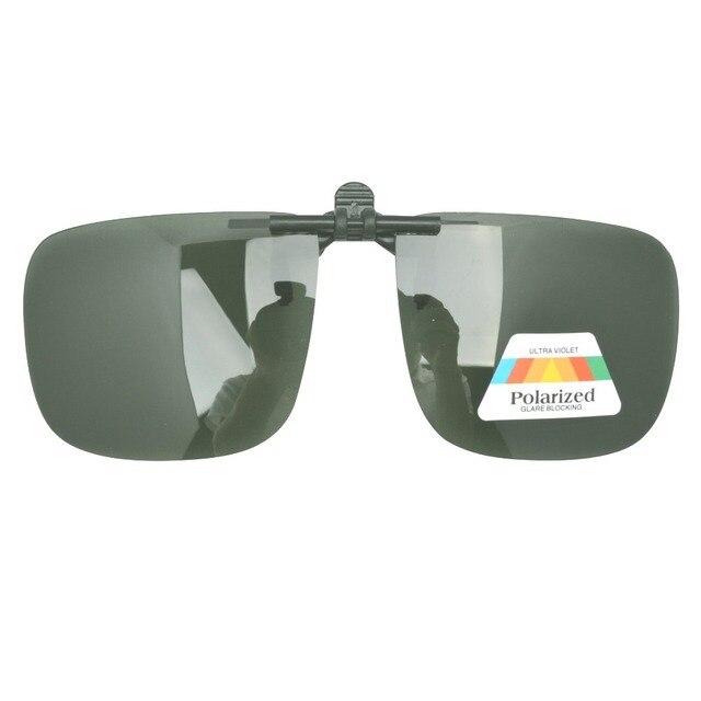 602d3807f7 F9 G15 patentado polarizadas Clip on Flip up gafas de sol en De los ...