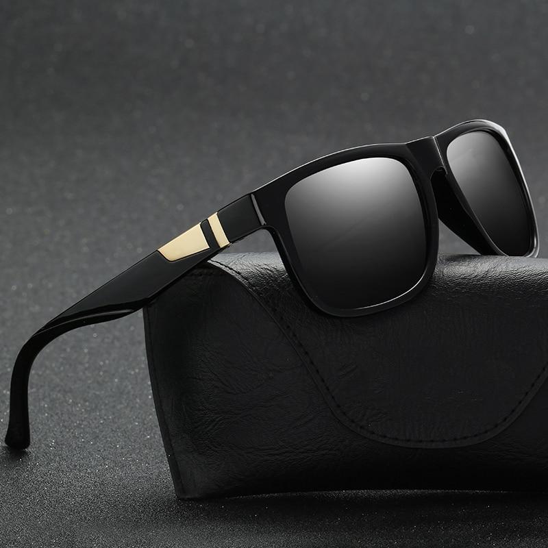 2018 new classic box polarized sunglasses men lunette. Black Bedroom Furniture Sets. Home Design Ideas