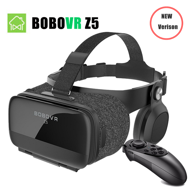 d37bf5e64c9 NEW VERSION BOBOVR Z5 Youth Virtual Reality 3D VR glasses Cardboard FOV 120  Degrees VR 3D Headset for Android and iOS