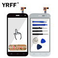 """New 5"""" A+++ Front High For Explay A500 Touch Screen Digitizer Touch Panel Glass Lens Sensor Flex Cable Free Adhesive Logo"""
