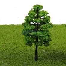Modelo de árboles de plástico MagiDeal 20 piezas HO, tren, calle, carretera, pueblo, arquitectura, modelo de construcción, diseño de escena