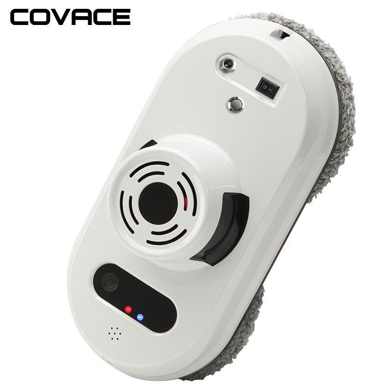 COVACE пульт дистанционного управления магнитный очиститель окон робот для внутреннего и наружного высокого окна, умный робот для очистки око...