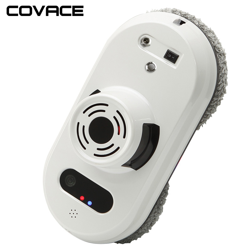 COVACE Remote control magnetic window cleaner robot for inside and outdoor high tall window, intelligent window cleaning robot