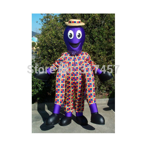 New Arrive Cute Henry The Octopus Fancy Dress Mascot Costume Adult