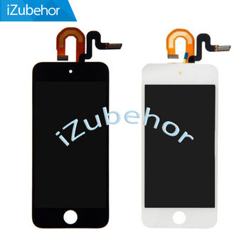 100% Warranty Display Screen LCD Screen Display With Touch Screen Digitizer Sensor Assembly For ipod Touch 5th 5 Touch 6 фото