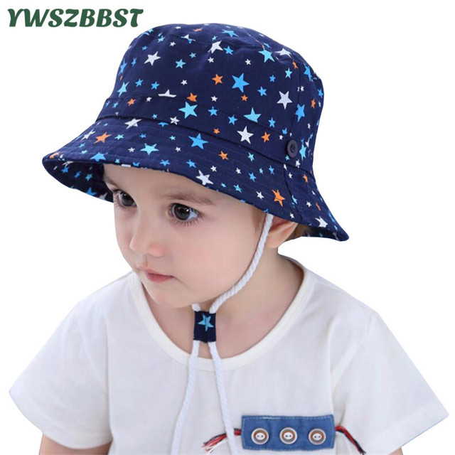 Fashion Stars Boys Sun Hat Baby Boy Hat Spring Summer Autumn Beach Hat  Fisherman Caps Kids Sun Caps for 5 Months -4 Years old 49b2529762f