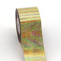 120M 4CM 1 Roll Nail Art Transfer Foil Sticker Classic Black Lace Foils Polish Fashion Designs