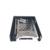 Uneatop 2.5 polegada hdd móvel rack para 3.5in floppy bay interno de alumínio