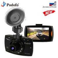 Podofo Original Car DVR G30 Dash Camera 1080P Full HD Dash Cam Video Registrator Night Version G-Sensor Driving Recorder DVRs