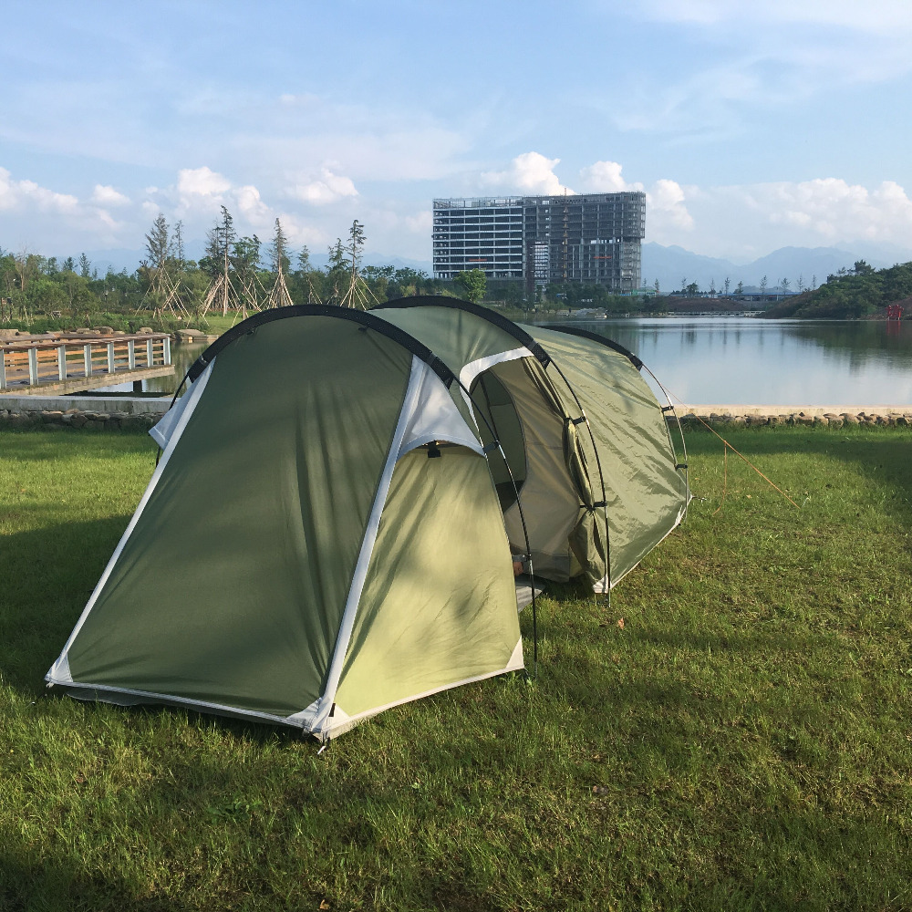 STARHOME 2 3 Person Camping Tent Single Layer Waterproof Beach Tent Large Outdoor Family Tent outdoor camping tent 3 4 beach tent camping tent single summer mosquito children play tent