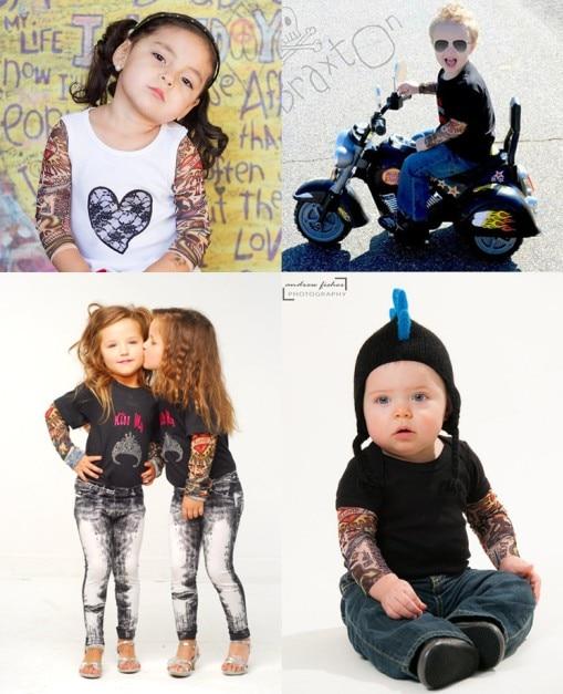 2017 nova djeca cool crtani krema za sunčanje tetovaža dijete ruku - Tetovaže i tjelesna umjetnost - Foto 4