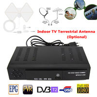 DVB T2 Digital Satellite TV Receiver H 264 1080P HD MPEG 4 USB Digital Satellite Receiver
