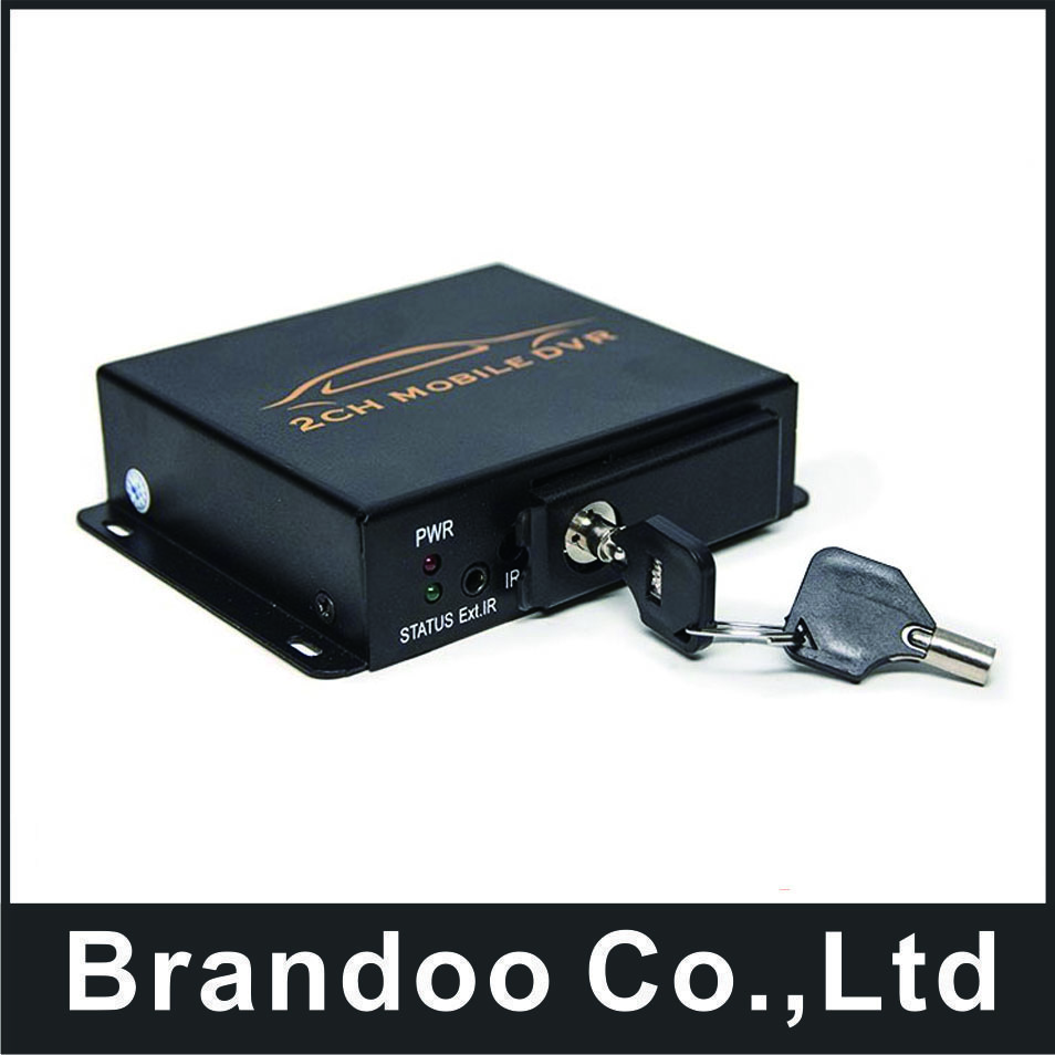 Hot sale!2 channel mini CAR DVR support 128GB SD CARD for taxi and bus used BD-302B цена