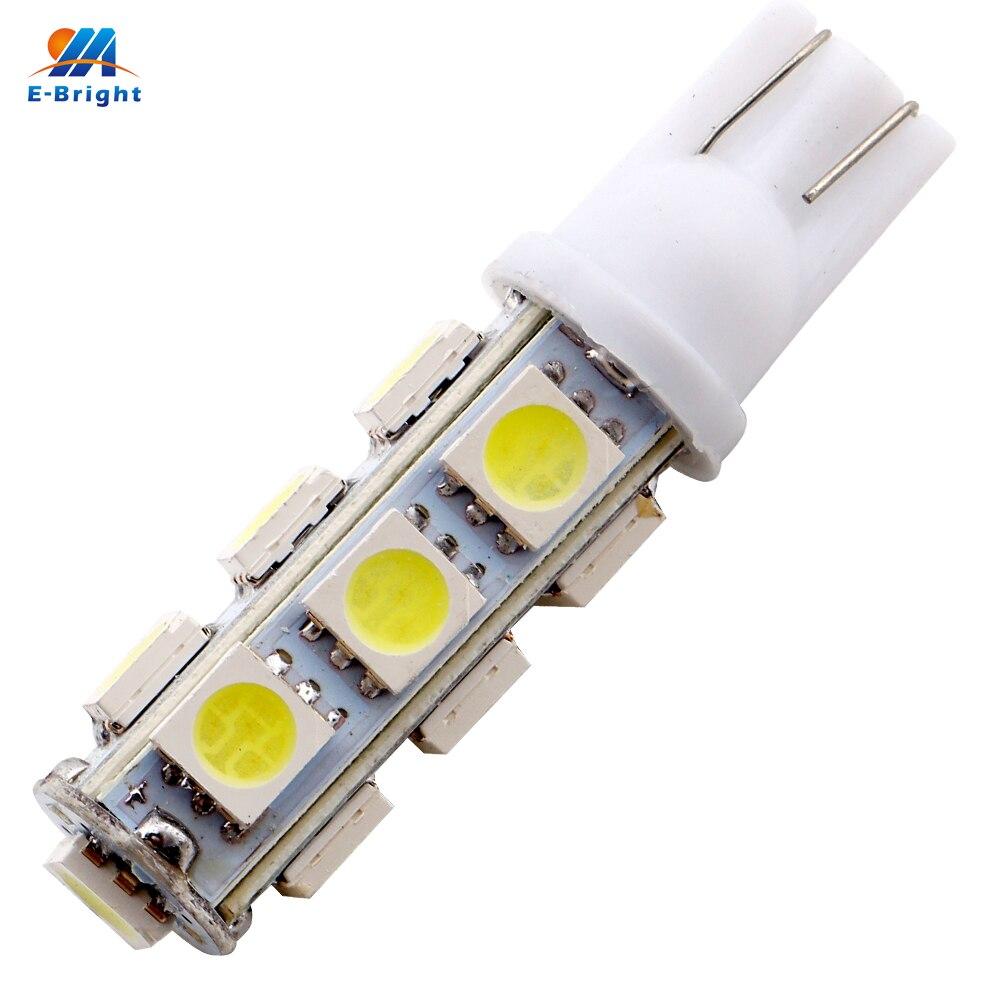 YM E Bright 500PCS T10 5050 13 SMD 194 168 W5W 13 LED 12V Car Light