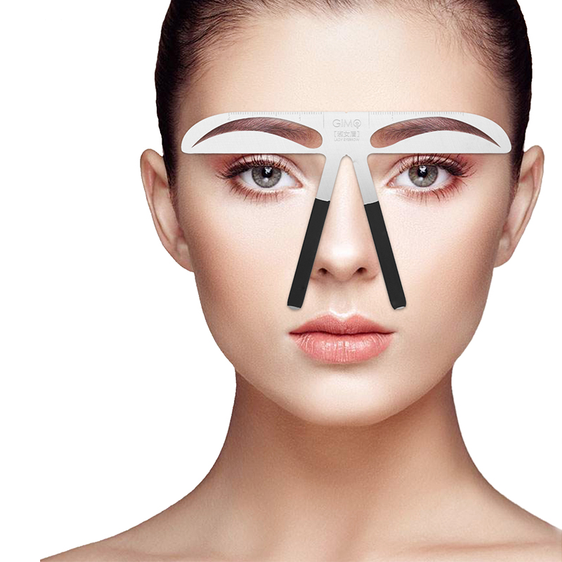 Permanent Eyebrow Makeup Stencil Kit Shop Deals