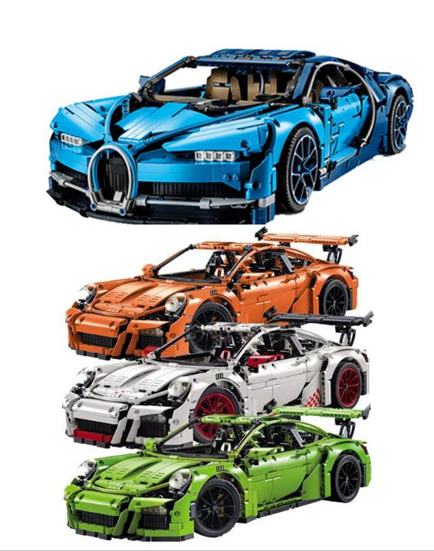 technic Series Racing Car Set decool 3368 A/B/C 23006 23002 20086 Model Building Blocks Bricks Legoingly Toy 42056 42083 Gift a toy a dream 2017 new free shipping decool 3331 large 805pcs exploiture crane model enlighten plastic building blocks sets