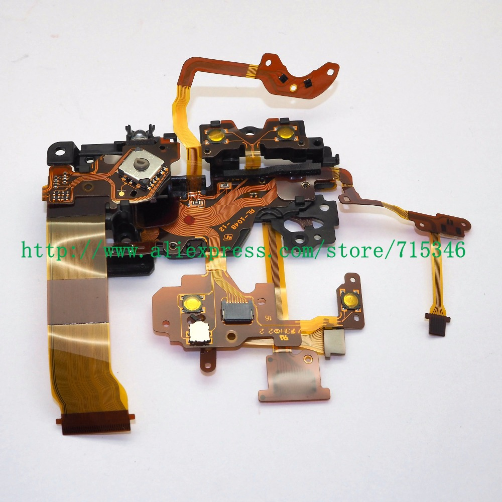 NEW Top Cover Mode dial turntable Flex Cable For SONY A7R II ILCE 7RM2 A7S II