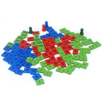 Dom dentystyczny materiały montessori zabawki drewniane pieczęć gra edycja domowa etykiety drewniane znaczki zabawka matematyczna wczesny rozwój edukacyjny