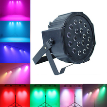 цены LED Stage Light Disco Ball Spotlight Sound control/Automatic DJ professional Stage Lamp EU/US plug For Bar KTV Ballroom Concert