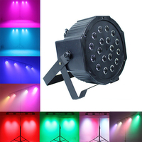 LED Stage Light Disco Ball Spotlight Sound control/Automatic DJ professional Stage Lamp EU/US plug For Bar KTV Ballroom Concert