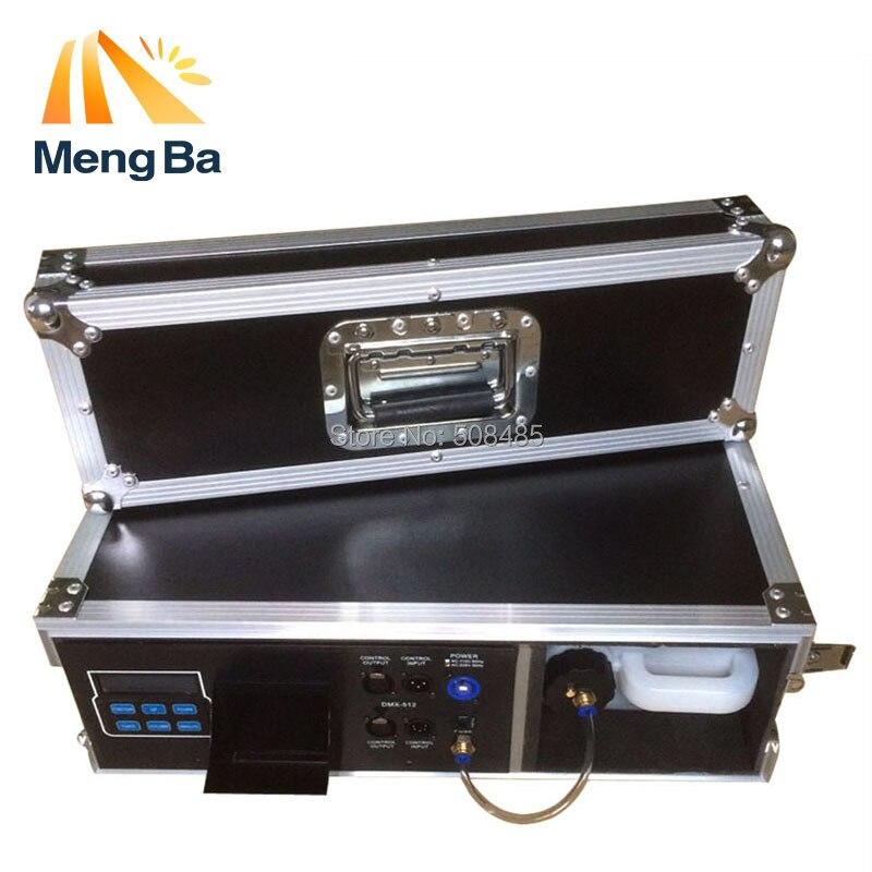 1500W Flight Case Haze Machine 3.5L Fog Machine For Stage Equipment With Fog Liquid Water Based DMX512 Control Fogger naza m v2 flight control