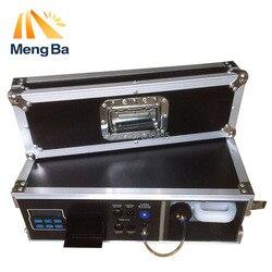 1500W skrzynia transportowa generator mgły 3.5L maszyna do mgły na sprzęt sceniczny z mgłą ciecz na bazie wody DMX512 Control Fogger