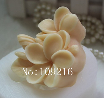 Wholesale 1pcs small flower zx0122 silicone handmade soap mold crafts diy mould.jpg 350x350