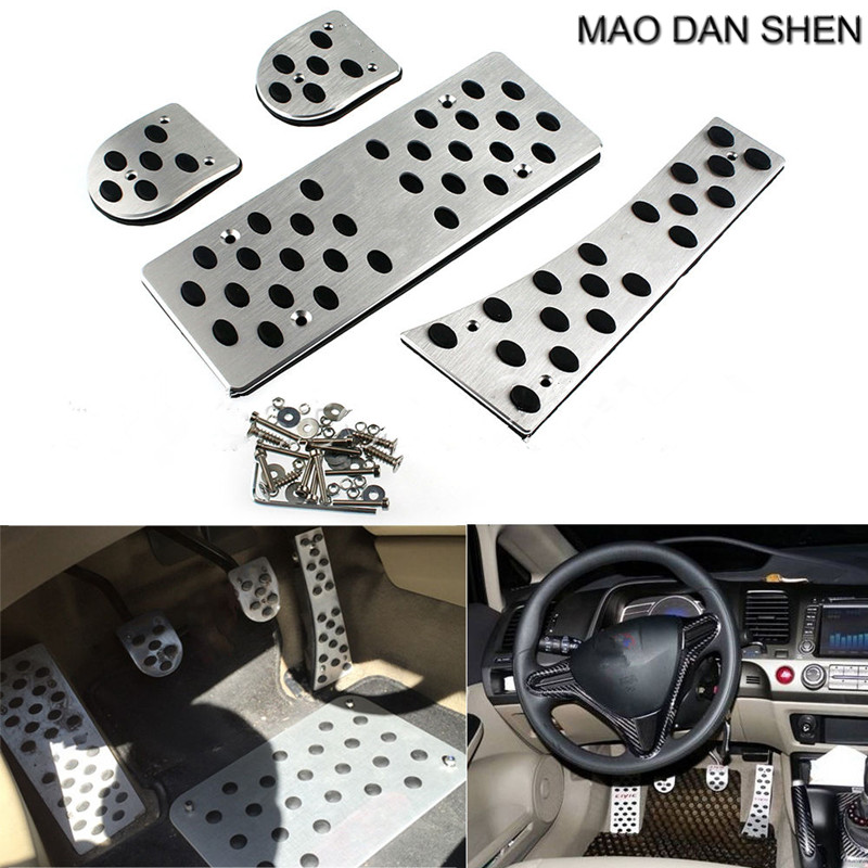 AT/MT Manual Transmission Foot Pedal Rest fit for Honda Civic 2006 07 08 09 10 2011 GE MAO DAN SHEN одежда для тренировок dan poetry ge ww01004