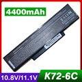 4400 mah bateria do portátil para asus k73 k73s k73sv n71 n71j n71ja N71JQ N71JV N71V N71VG N71VN N71YI N73 N73F N73G N73J N73JF N73JG
