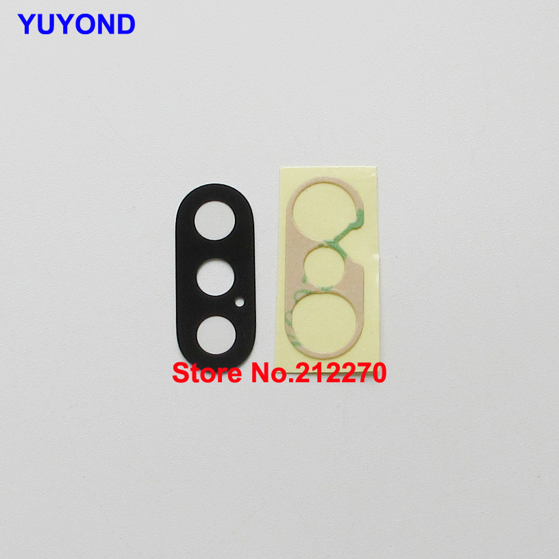 YUYOND Sapphire Back Rear Camera Glass Lens For iPhone XS XS Max With Adhesive Sticker Original