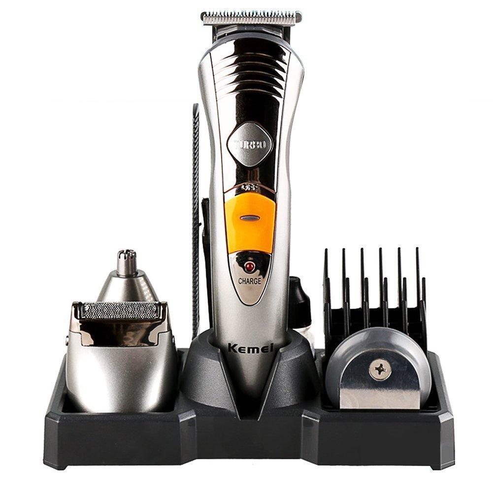 Top vente Kemei KM-580A 7in1 multi-fonction professionnel adulte tondeuse à cheveux plein corps lavage cheveux tondeuse
